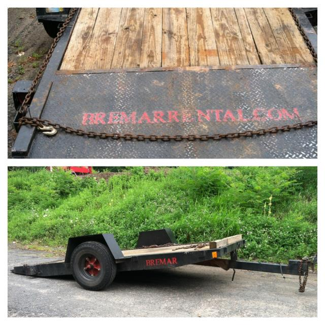 Where to find TRAILER, OWENS 6X12 4500GVW in Canton