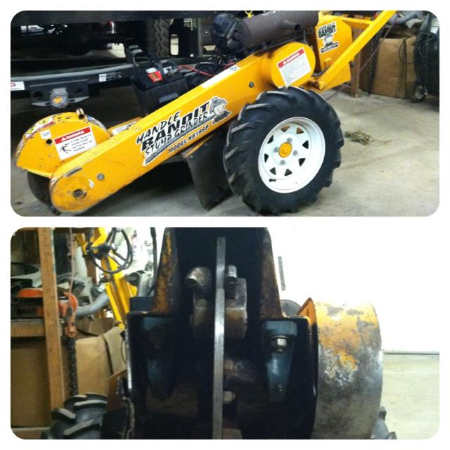Where to find STUMP GRINDER HYDRAULIC 20 HP in Canton