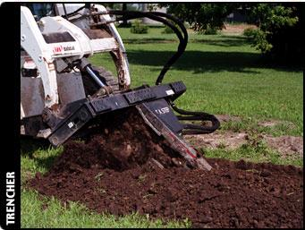Where to find BOBCAT TRENCHER  SKID STEER in Canton