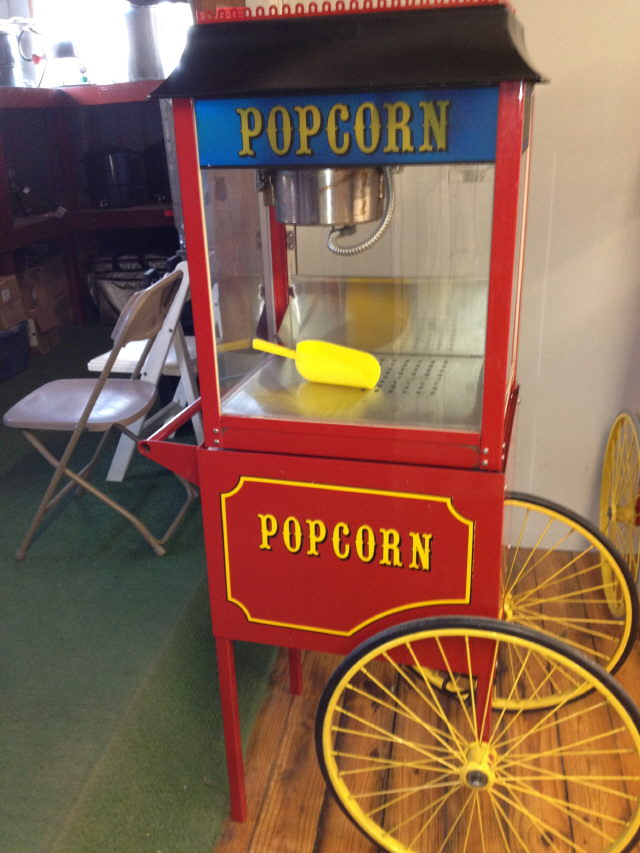 Where to find POPCORN MACHINE  ON CART in Canton