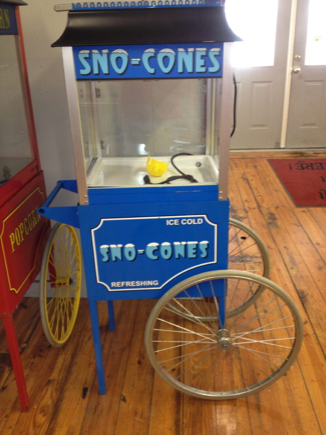 Where to find SNO-KONE MACHINE  ON CART in Canton