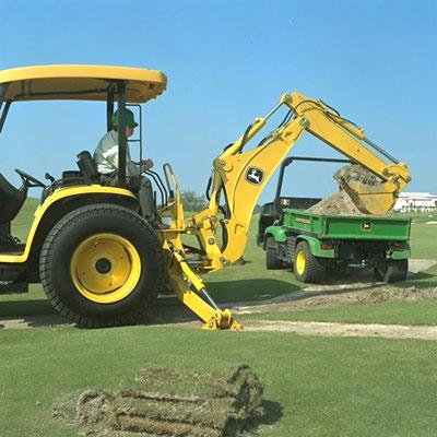 Where to find JOHN DEERE 110 4WD in Canton