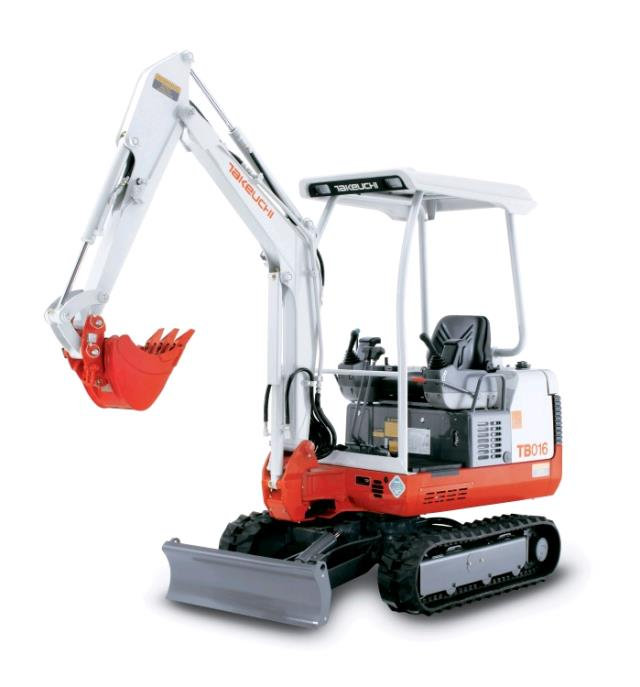 Where to find EXCAVATOR, TAKEUCHI TB016 in Canton