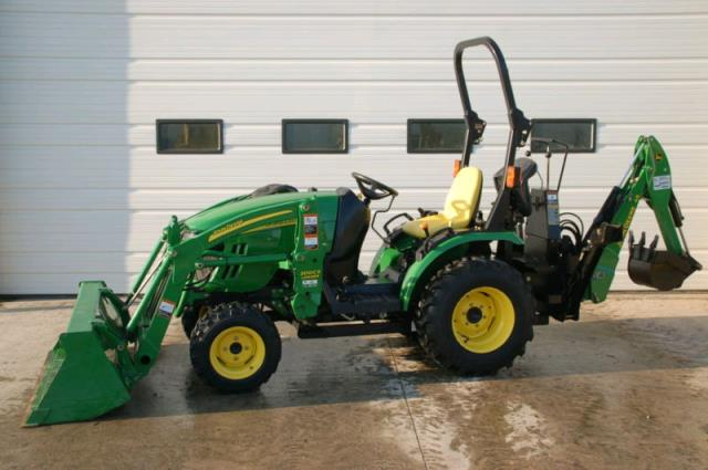 Where to find JOHN DEERE, 2025 4WD in Canton