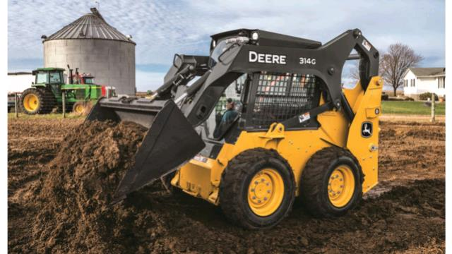 Where to find JOHN DEERE, 312GR, TIRES in Canton