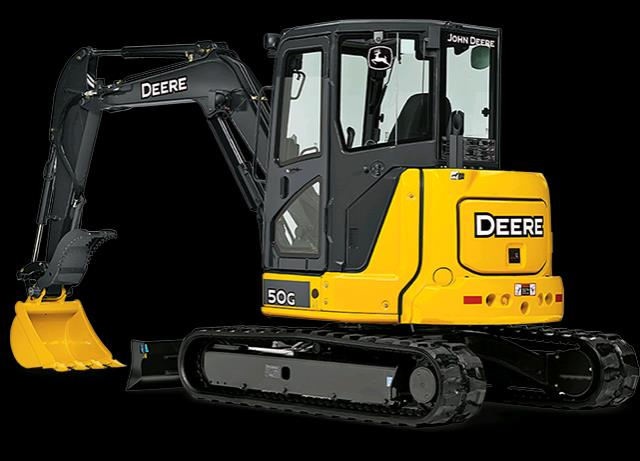 Where to find EXCAVATOR, JOHN DEERE 50  11  7 in Canton