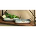 Rental store for RUSTIC METAL TRAY, SMALL in Canton CT
