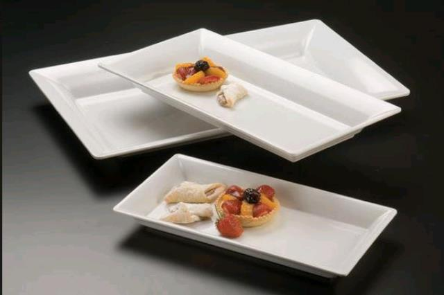 Where to find PLATTER, CERAMIC WHITE 18 X8.75 in Canton