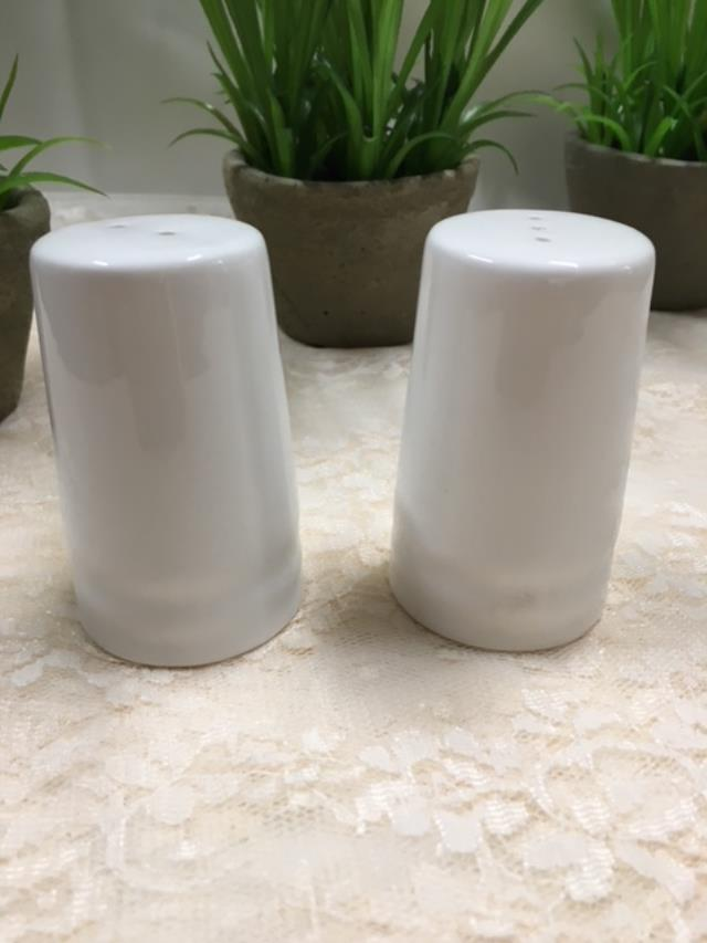 Where to find SALT   PEPPER, WHITE CERAMIC in Canton