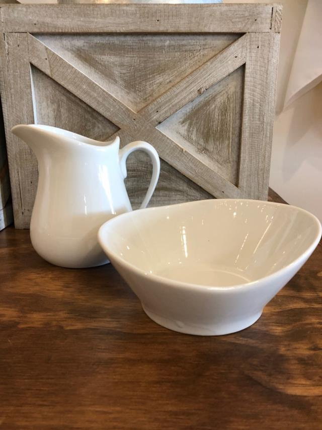 Where to find SUGAR   CREAMER ,  WHITE CERAMIC, 16OZ in Canton