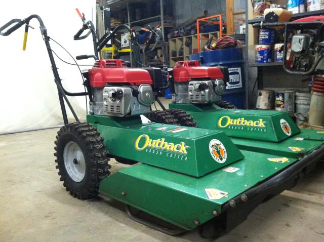 Where to find BILLY GOAT OUTBACK MOWER in Canton