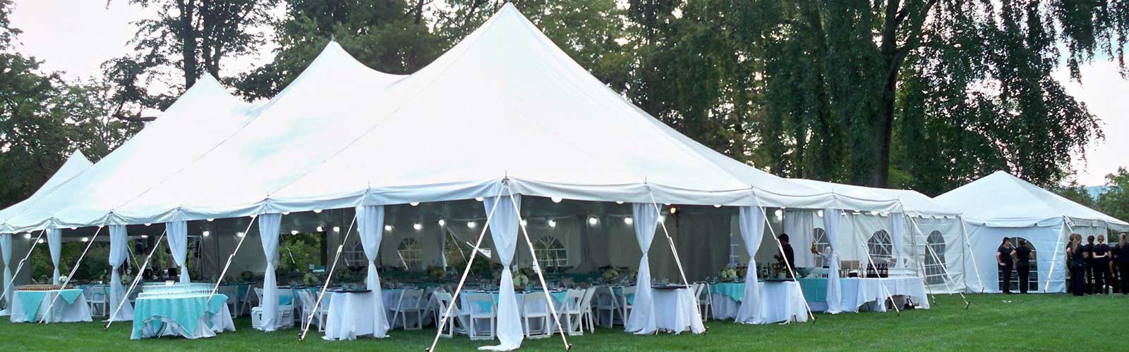 Party Rentals in Canton CT, the Farmington Valley, and Northwest Connecticut
